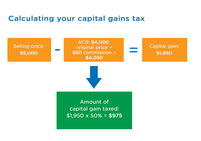 Capital Gains Infographic - Clearline CPA